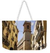 Calle Serranos In Valencia Weekender Tote Bag