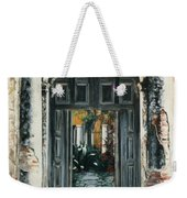 Calle Tapachula - 2 Doors Open Weekender Tote Bag