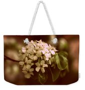 Callery Pear Blossoms Weekender Tote Bag