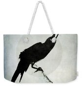 Calling To The Moon Weekender Tote Bag by Patricia Strand