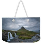 Calm Before The Storm At Kirkjufell Weekender Tote Bag