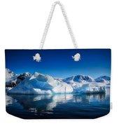 Calm Ice Weekender Tote Bag