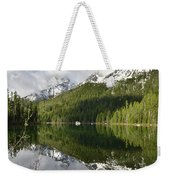 Calm Reflection On String Lake Weekender Tote Bag
