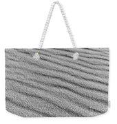 Calm Sands In Monochrome Weekender Tote Bag