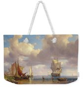 Calm Sea Weekender Tote Bag by Adolf Vollmer