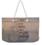 Calm Seas Weekender Tote Bag