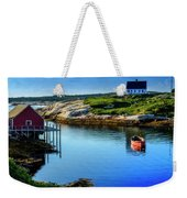 Calm Water At Peggys Cove #3 Weekender Tote Bag