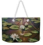 Calming Pond Weekender Tote Bag