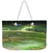 Calming Solitude Weekender Tote Bag by Valeria Donaldson