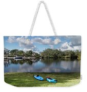 Caloosahatchee Kayaking Weekender Tote Bag