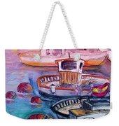 Calpe Harbour 03 Weekender Tote Bag