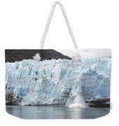 Calving Glacier Weekender Tote Bag