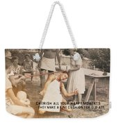 Calypso Quote Weekender Tote Bag