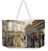 Calzados Victoria-leon Weekender Tote Bag by Tomas Castano