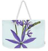 Camas, The Flowers Weekender Tote Bag