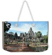 Cambodia 2 Weekender Tote Bag