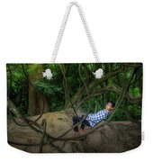 Cambodian Jungle Swing Weekender Tote Bag
