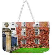 Cambridge 2 Weekender Tote Bag