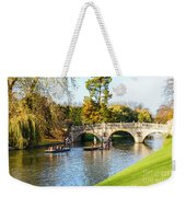 Cambridge 4 Weekender Tote Bag