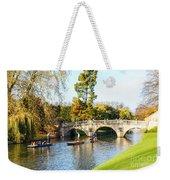 Cambridge 5 Weekender Tote Bag