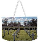 Cambridge American Cemetery Weekender Tote Bag