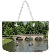 Cambridge Punting On The River Weekender Tote Bag