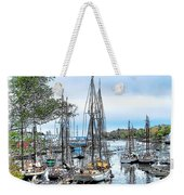 Camden Bay Harbor Weekender Tote Bag