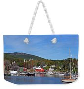 Camden Harbor Weekender Tote Bag by Corinne Rhode