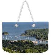 Camden Harbor Maine Weekender Tote Bag