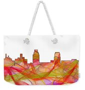 Camden Nj Skyline Weekender Tote Bag