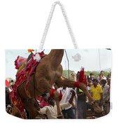 Camel Dance Pushkar Weekender Tote Bag