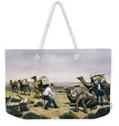 Camel Express, 1857 Weekender Tote Bag