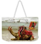 Camel For Ride  Weekender Tote Bag