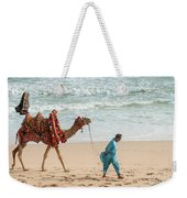 Camel Ride On Beach Weekender Tote Bag