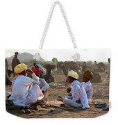 Camel Traders Pushkar Weekender Tote Bag