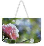 Camellia And Early Light Weekender Tote Bag
