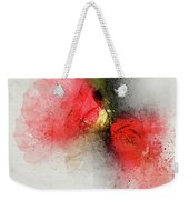 Camellia Burst Weekender Tote Bag