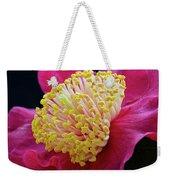 Camellia Centre Weekender Tote Bag