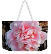 Camellia Flower Weekender Tote Bag