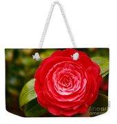 Camellia Japonica Weekender Tote Bag