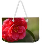 Camellia Rosette Weekender Tote Bag