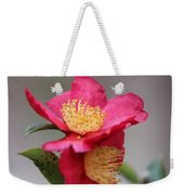 Camellia Sasanqua Yuletide 1 Weekender Tote Bag