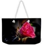 Camellia Silhouette  Weekender Tote Bag