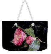 Camellia Still Life Weekender Tote Bag