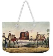 Camels And Litter Weekender Tote Bag