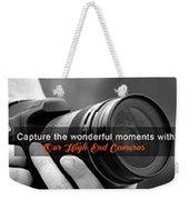 Camera On Rent Weekender Tote Bag