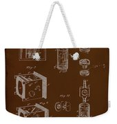 Camera Patent Drawing 2e Weekender Tote Bag