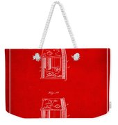 Camera Patent Drawing 3b Weekender Tote Bag