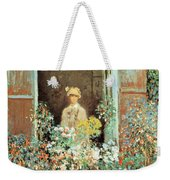 Camille At The Window Weekender Tote Bag