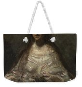 Camille Corot   Sketch Of A Woman In Bridal Dress Weekender Tote Bag